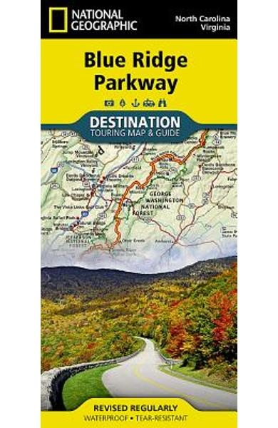 Blue Ridge Parkway - National Geographic Maps