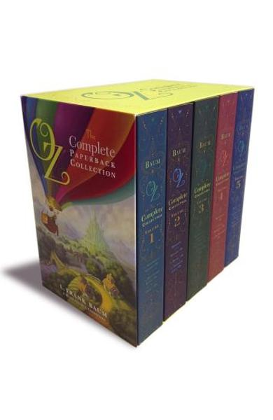 Oz, the Complete Paperback Collection: Oz, the Complete Collection, Volume 1; Oz, the Complete Collection, Volume 2; Oz, the Complete Collection, Volu - L. Frank Baum