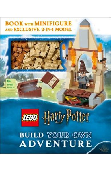 Lego Harry Potter Build Your Own Adventure: With Lego Harry Potter Minifigure and Exclusive Model [With Toy] - Elizabeth Dowsett