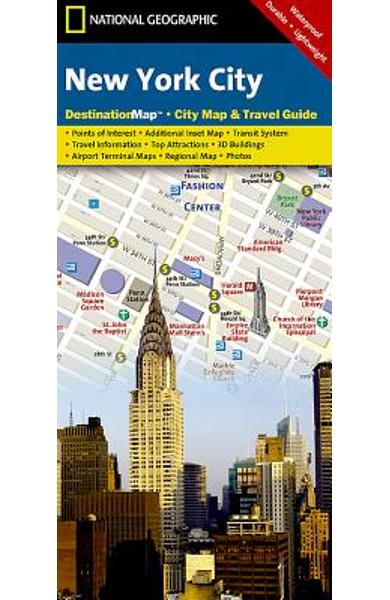New York City - National Geographic Maps