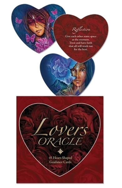 Lovers Oracle: Heart-Shaped Fortune Telling Cards - Toni Carmine Salerno