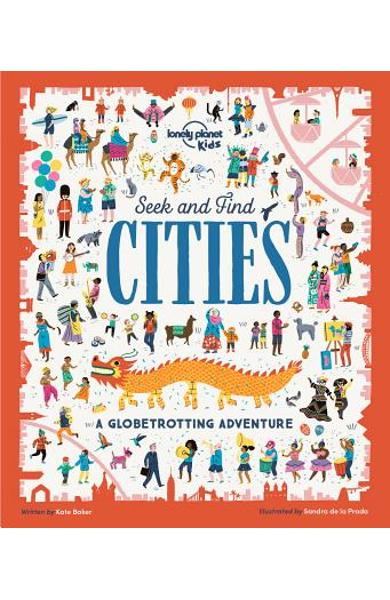 Seek and Find Cities - Lonely Planet Kids