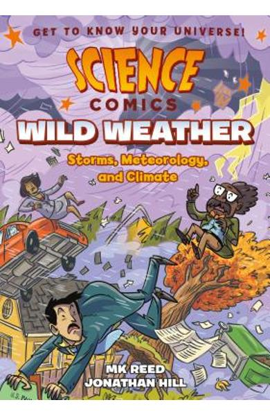 Science Comics: Wild Weather: Storms, Meteorology, and Climate - Mk Reed