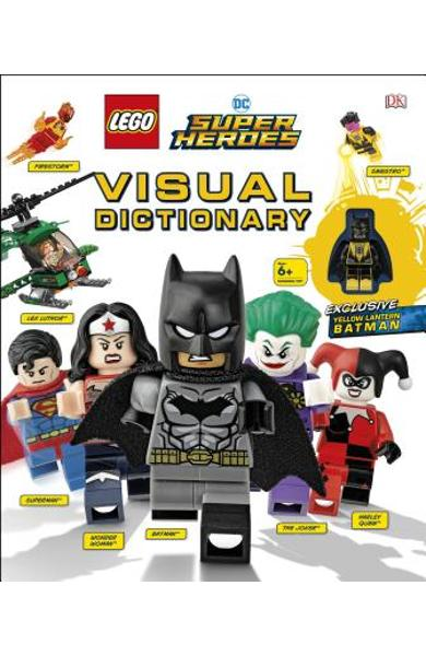 Lego DC Super Heroes Visual Dictionary [With Toy] - Elizabeth Dowsett