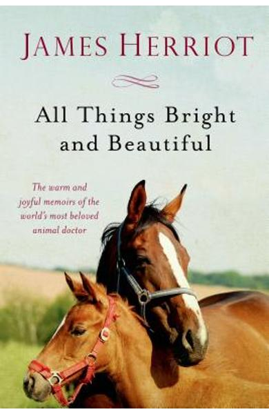 All Things Bright and Beautiful: The Warm and Joyful Memoirs of the World's Most Beloved Animal Doctor - James Herriot