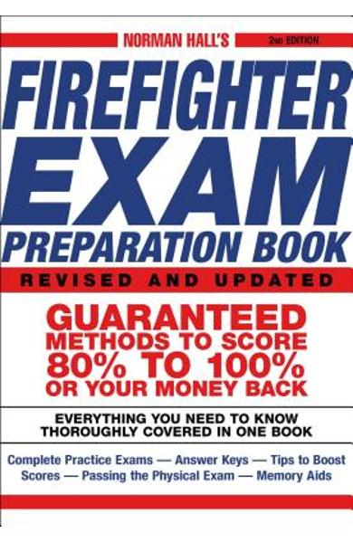 Norman Hall's Firefighter Exam Preparation Book - Norman Hall