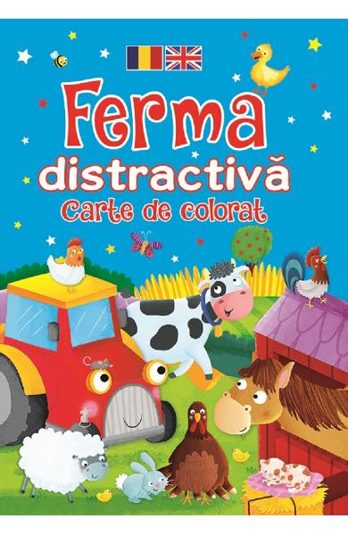 Ferma distractiva. Carte de colorat - Brown Watson