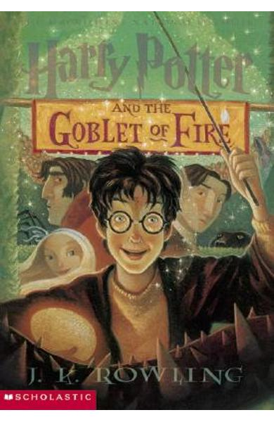Harry Potter and the Goblet of Fire - J. K. Rowling