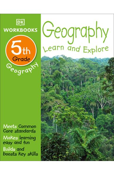 DK Workbooks: Geography, Fifth Grade: Learn and Explore - Dk