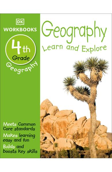 DK Workbooks: Geography, Fourth Grade: Learn and Explore - Dk