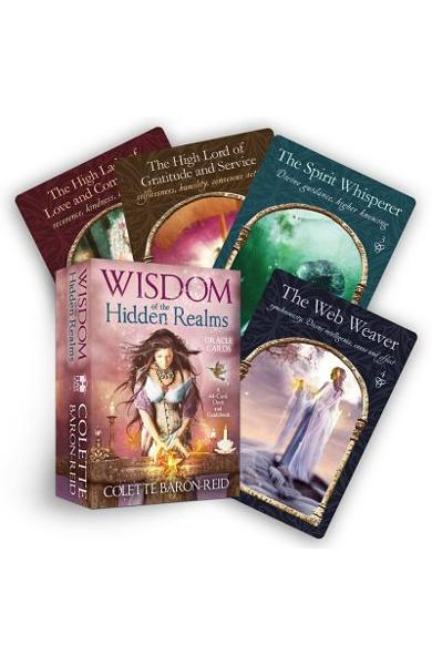 Wisdom of the Hidden Realms Oracle Cards [With Booklet] - Colette Baron-reid