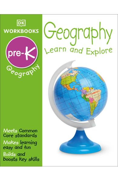 DK Workbooks: Geography Pre-K: Learn and Explore - Dk
