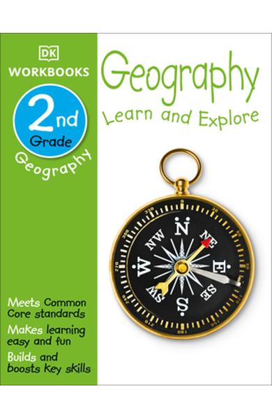 DK Workbooks: Geography, Second Grade: Learn and Explore - Dk