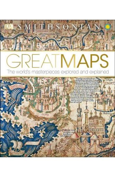 Great Maps: The World's Masterpieces Explored and Explained - Jerry Brotton