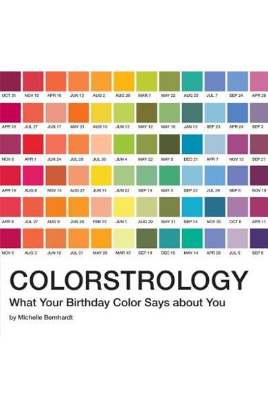 Colorstrology: What Your Birthday Color Says about You - Michele Bernhardt