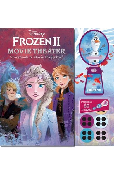Disney Frozen 2 Movie Theater Storybook & Movie Projector - Marilyn Easton