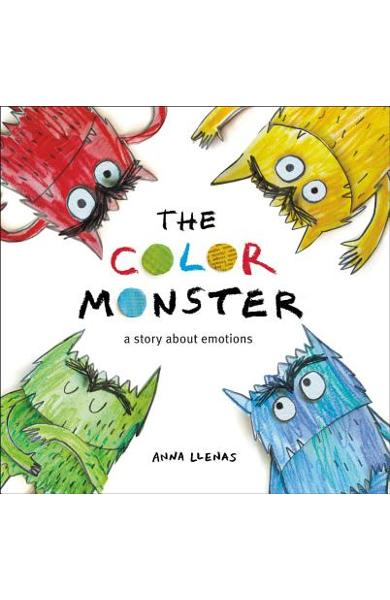 The Color Monster: A Story about Emotions - Anna Llenas