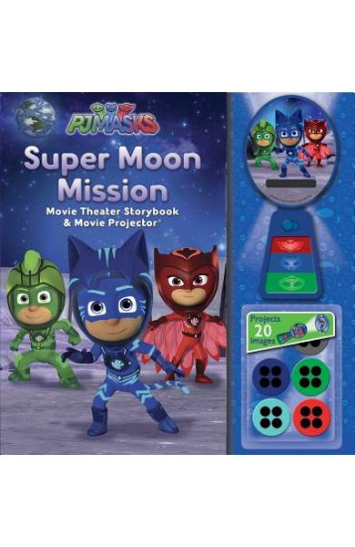 Pj Masks: Super Moon Mission Movie Theater & Storybook - Pj Masks