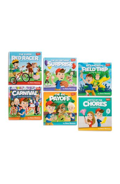 Junior's Adventures: Storytime Book Set: Teaching Kids How to Win with Money! - Dave Ramsey