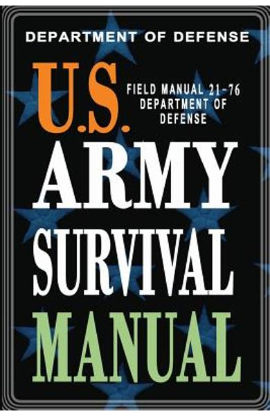 U.S. Army Survival Manual: FM 21-76 - Department Of Defense