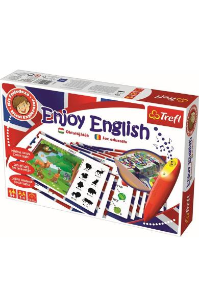 Enjoy English. Invata engleza cu stilou electronic