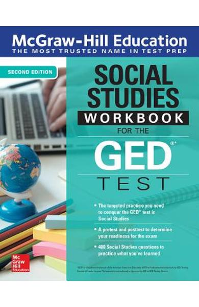 McGraw-Hill Education Social Studies Workbook for the GED Test, Second Edition - Mcgraw-hill