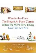 Winnie-The-Pooh Boxed Set: Winnie-The-Pooh; The House at Pooh Corner; When We Were Very Young; Now We Are Six - A. A. Milne