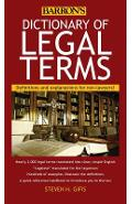 Dictionary of Legal Terms: Definitions and Explanations for Non-Lawyers - Steven H. Gifis