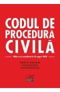 Codul de procedura civila Ed.6 Act. 23 august 2020