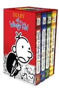 Diary of a Wimpy Kid Box of Books 1-4 Revised - Jeff Kinney