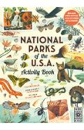 National Parks of the USA: Activity Book: With More Than 15 Activities, a Fold-Out Poster and 50 Stickers! - Claire Grace