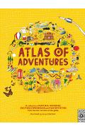 Atlas of Adventures: A Collection of Natural Wonders, Exciting Experiences and Fun Festivities from the Four Corners of the Globe - Rachel Williams