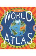 Barefoot Books World Atlas [With Map] - Nick Crane