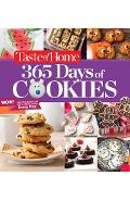 Taste of Home 365 Days of Cookies: Sweeten Your Year with a New Cookie Every Day - Taste Of Home