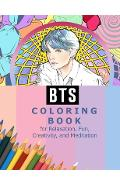 BTS Coloring Book for Relaxation, Fun, Creativity, and Meditation: Beautiful Stress Relieving Coloring Pages for ARMY and Kpop fans I Purple U 8.5 in - Kpop Ftw