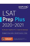 LSAT Prep Plus 2020-2021: Strategies for Every Section + Real LSAT Questions + Online - Kaplan Test Prep