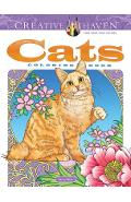 Creative Haven Cats Coloring Book - Marty Noble