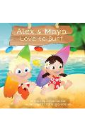 Alex & Maya Love to Surf - Chrys Coulter