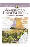 Creative Haven American Landscapes Color by Number Coloring Book - Diego Jourdan Pereira