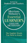 Merriam-Webster's Essential Learner's English Dictionary - Merriam-webster