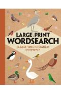 Large Print Wordsearch: Engaging Puzzles to Challenge and Entertain - Eric Saunders