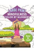 Mindfulness Color-By-Numbers Large Print - Arcturus Publishing