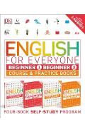 English for Everyone: Beginner Box Set: Course and Practice Books Four-Book Self-Study Program - Dk