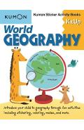 World Geography K & Up: Kumon Sticker Activity Book - Kumon