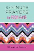 3-Minute Prayers for Teen Girls - Margot Starbuck