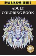 Adult Coloring Book: Largest Collection of Stress Relieving Patterns Inspirational Quotes, Mandalas, Paisley Patterns, Animals, Butterflies - Adult Coloring Books
