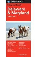 Rand McNally Delaware Maryland State Map - Rand Mcnally