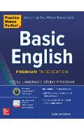 Practice Makes Perfect: Basic English, Premium Third Edition - Julie Lachance