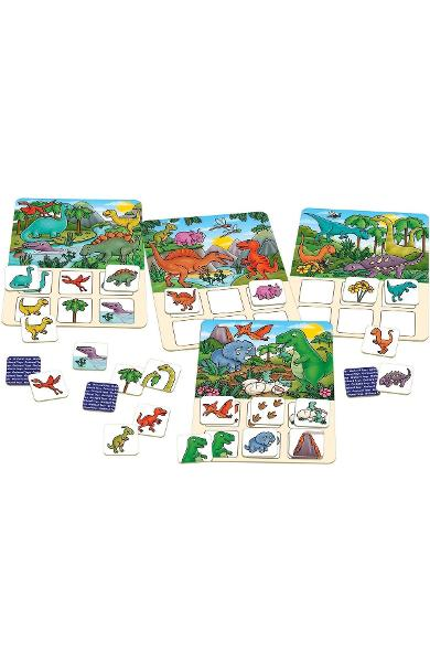 Joc educativ Dinosaur Lotto. Dinozauri
