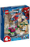 Lego Marvel Spiderman. Amenintarea lui Mysterio